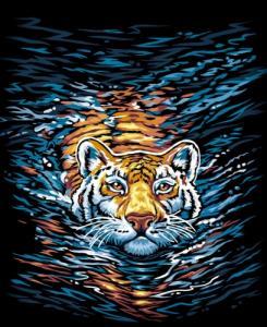 Картины по номерам Тигр