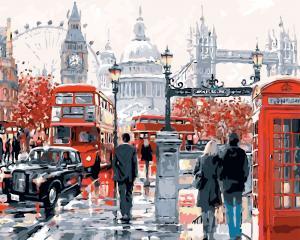 Картины по номерам Очарование Лондона
