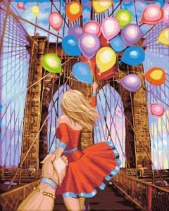 Картины по номерам Следуй за мной: Бруклинский мост