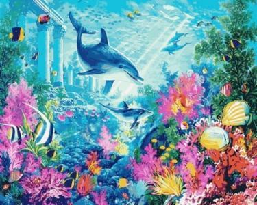 Картины по номерам Водный мир