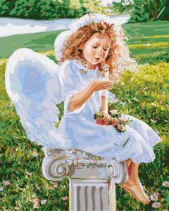 Картины по номерам Маленький ангел