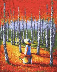 Картины по номерам Теплый лес