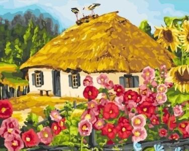 Картины по номерам Живописный пейзаж