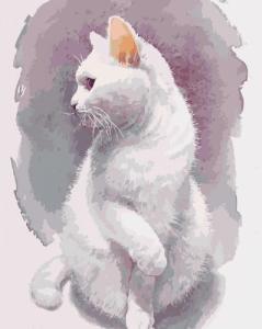 Картины по номерам Хрупкий кот