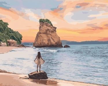 Картины по номерам Необитаемый остров