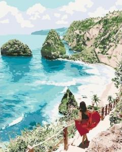 Картины по номерам Бриллиантовый пляж
