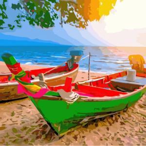 Картины по номерам На побережье Таиланда