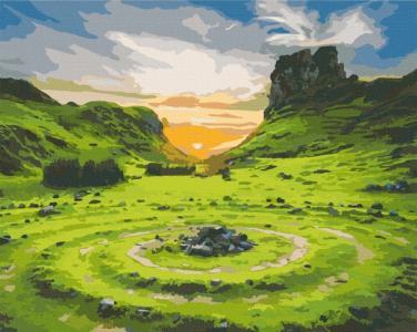 Картины по номерам Долина Фей. Шотландия