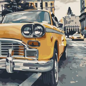 Картины по номерам Особенное такси