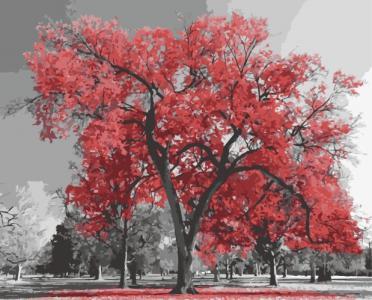 Картины по номерам Канадский ясень