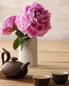 Картины по номерам Чайная церемония