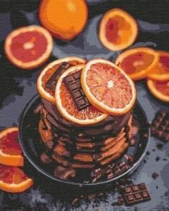 Картины по номерам Апельсиново-шоколадное наслаждение