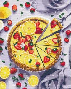 Картины по номерам Лимонный пирог
