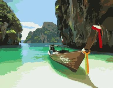 Картины по номерам Пхукет. Таиланд