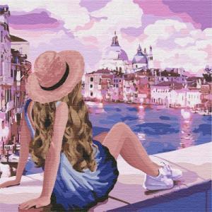 Картины по номерам Розовые мечты 3