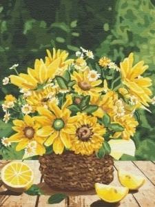 Картины по номерам Привет из лета