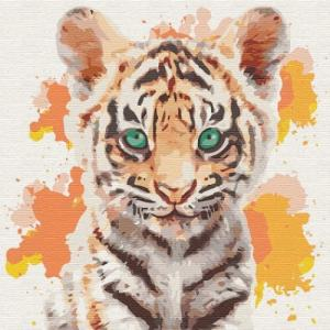 Картины по номерам Маленький тигр