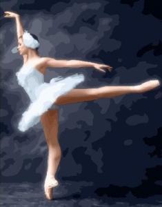 Картины по номерам Магия балета