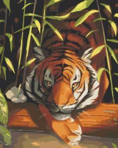 Картины по номерам Бенгальский тигр