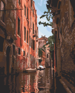 Картины по номерам Канал Каннареджо. Венеция