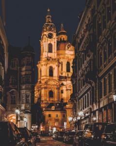 Картины по номерам Собор Св. Николая. Прага