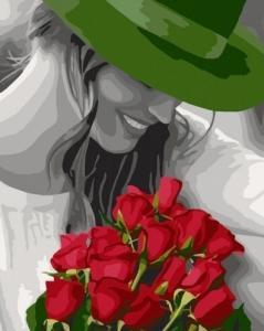 Картины по номерам Цветы любимой