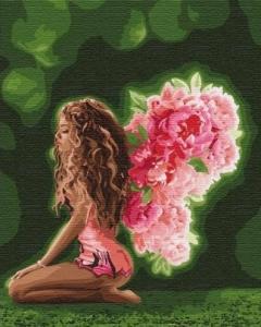 Картины по номерам Цветочные крылья