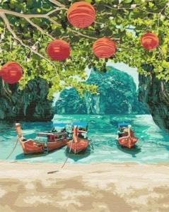 Картины по номерам Отдых в Таиланде
