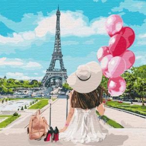 Картины по номерам Гуляя по улицам Парижа