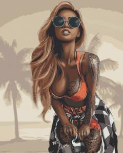 Картины по номерам Соблазн Майами