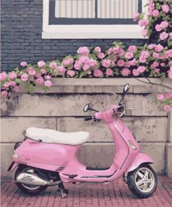 Картины по номерам Город Роз. Нормандия