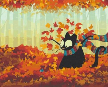 Картины по номерам Осенняя встреча