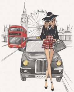Картины по номерам Элегантность Лондона