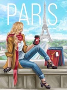 Картины по номерам PARIS