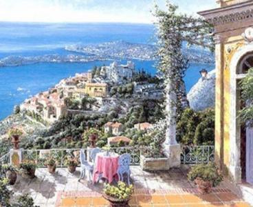 Картины по номерам Итальянское утро