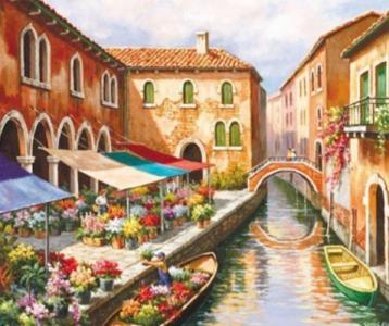 Картины по номерам Венеция