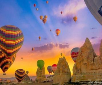 Картины по номерам Воздушные шары