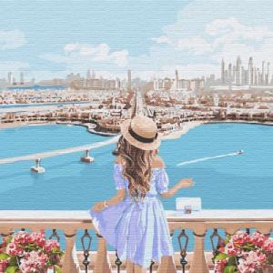 Картины по номерам Любуясь пейзажами