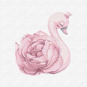 Картины по номерам Принцесса лебедь