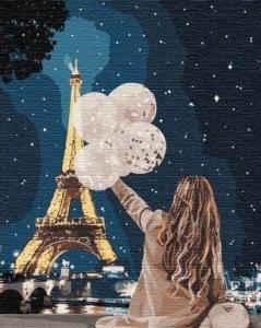 Картины по номерам Незабываемый вечер в Париже