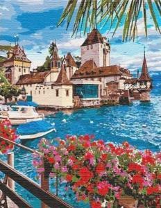 Картины по номерам Волшебная Швейцария (big)
