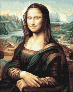 Картины по номерам Джаконда, Мона Лиза