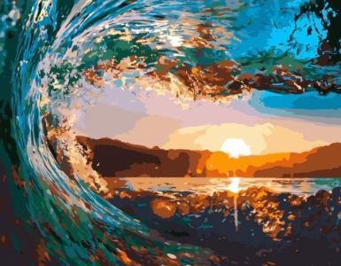 Картины по номерам Хвиля на заході