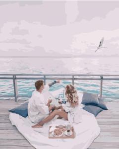Картины по номерам Пікнік біля моря