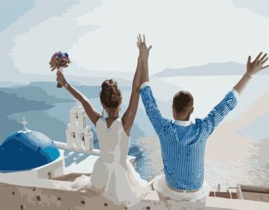 Картины по номерам Весільна подорож