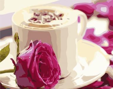 Картины по номерам Ранкова кава
