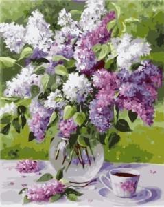 Картины по номерам Весняний бузок
