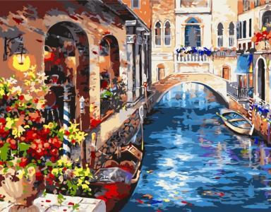 Картины по номерам Венеція