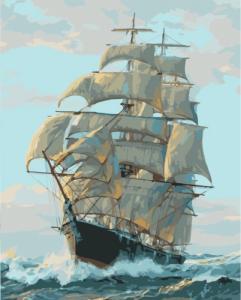 Картины по номерам Корабель