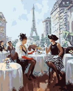 Картины по номерам Сніданок у Парижі